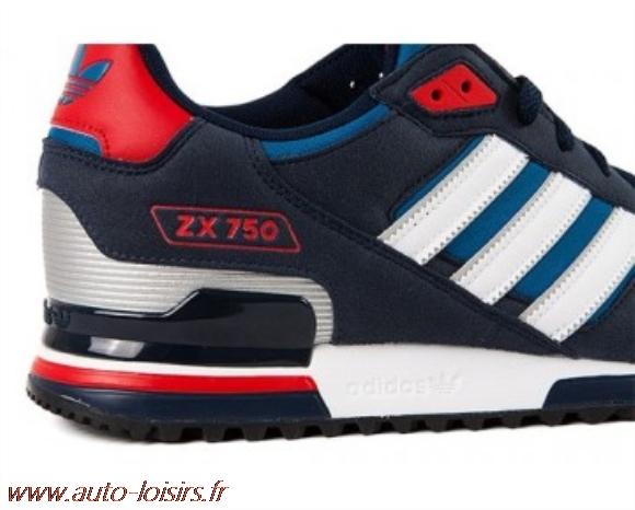 release date b443d 51b8c adidas zx 750 bleu blanc rouge